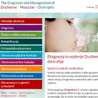 Spletni vodnik: Diagnoza in vodenje Duchennove mišične distrofije