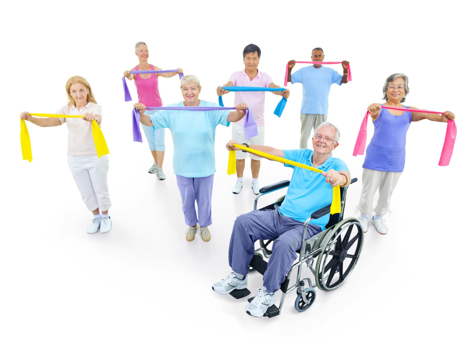 Tedenska skupinska telovadba pod vodstvom fizioterapevta