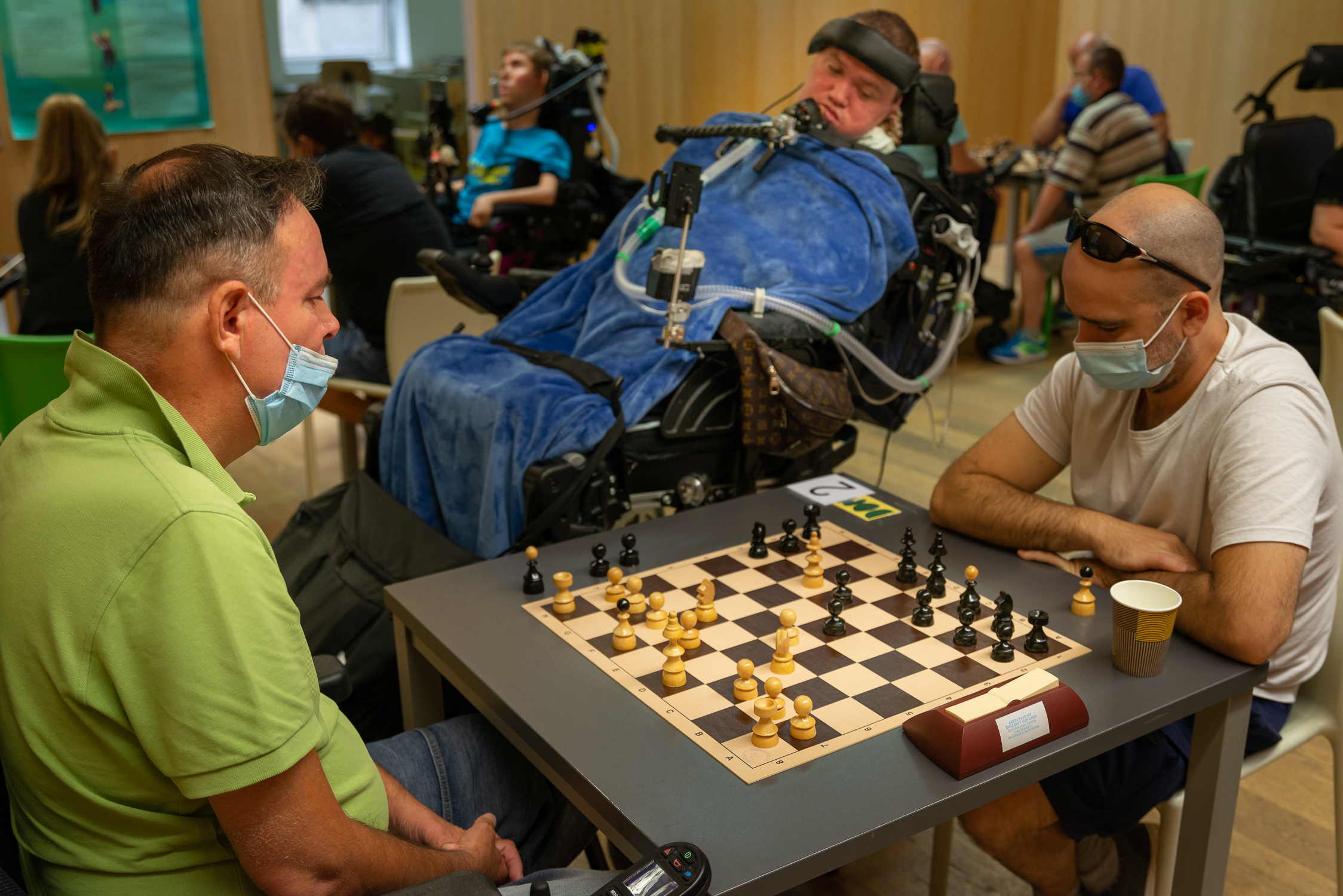 Šahovska prvaka med distrofiki 2020