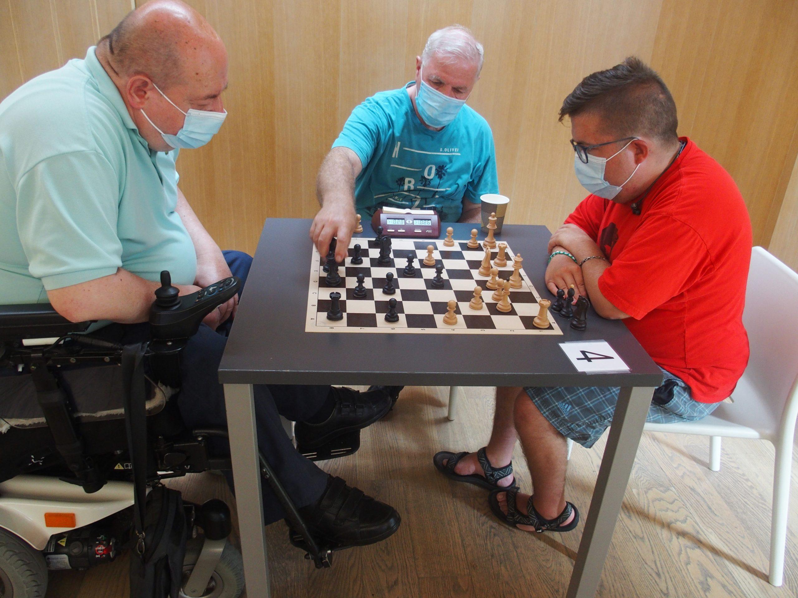 Šah in teden športa distrofikov
